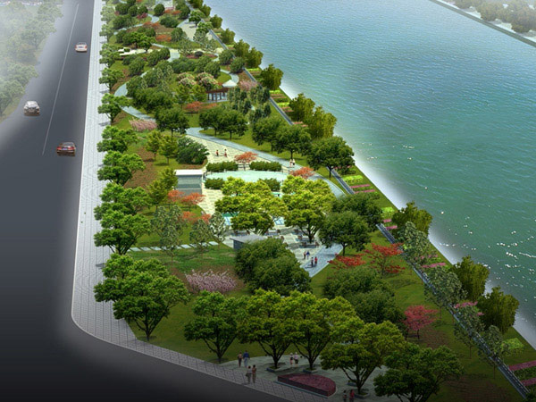 易水河滨河公园