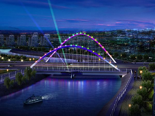 保定市工农桥设计